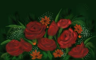 bouquet splash