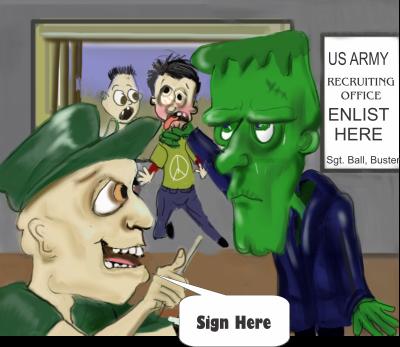 original cartoon panel 2