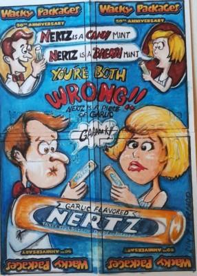 nertz puzzle card
