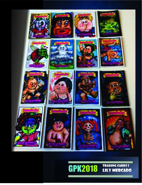 GARBAGE PAIL KIDS SKETCH CARDS TRADING CARD