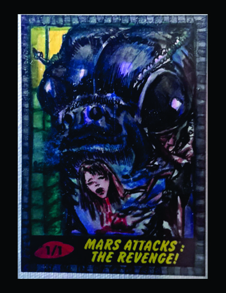 Topps Mars Attack Return Card