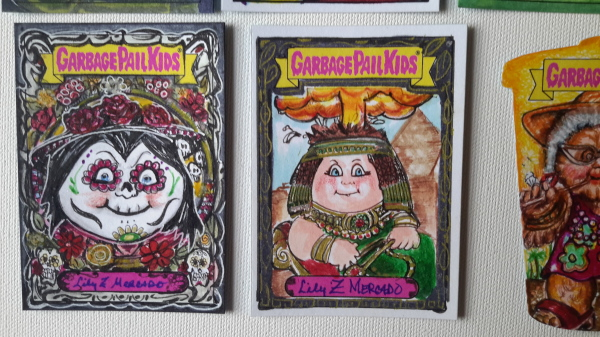ARBAGE PAIL KIDS SKETCH CARDS TRADING CARD 80S