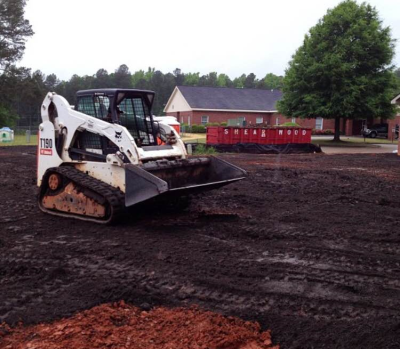 Bobcat Clearing Grading Container Service