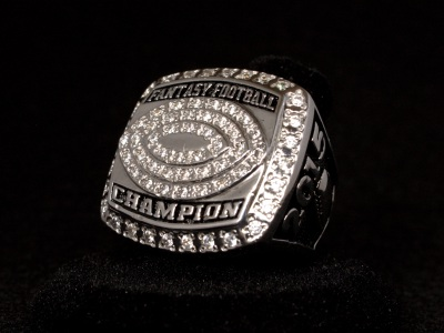 2015 Fantasy Football Championship Ring