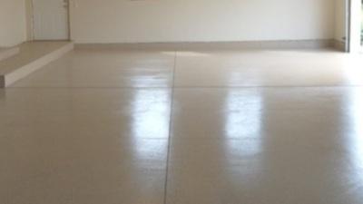 epoxy floors, garage floor color, traction, driveway revitalization