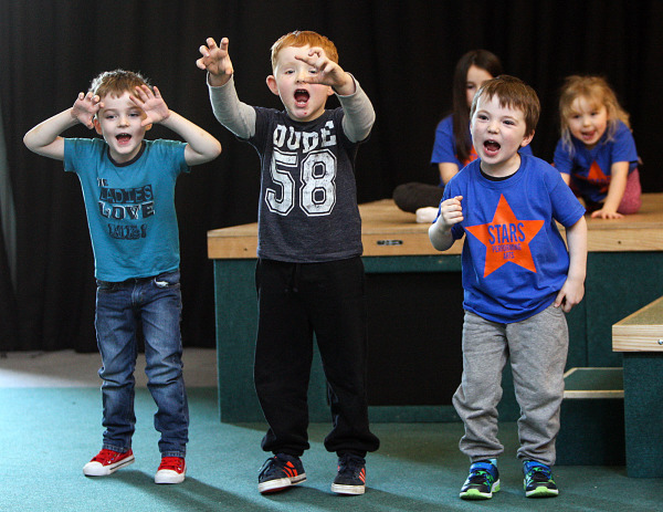 Mini Musical Stars Aged 4-6. Saturday 9-10am