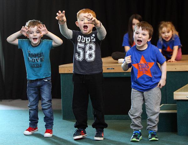 Mini Musical Stars Aged 4-6. Saturday 9-10am