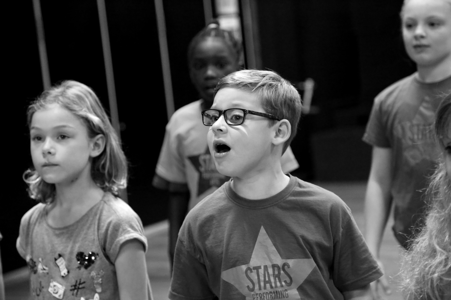 Musical Theatre Group 1. Aged 7-9.