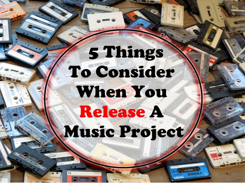 5 Things To Consider When You Release A Music Project - SkillMusicSA