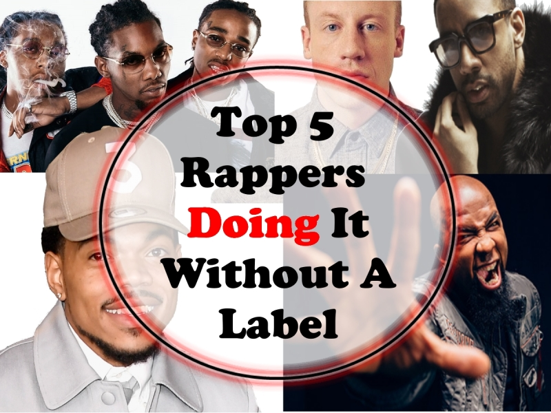 Top 5 Rappers Doing It Without A Label - SkillMusicSA