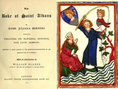 Dame Juliana Berners Medieval Hunting, Grand Dame, Coats Armours, Medieval Fish, Pesca Medieval
