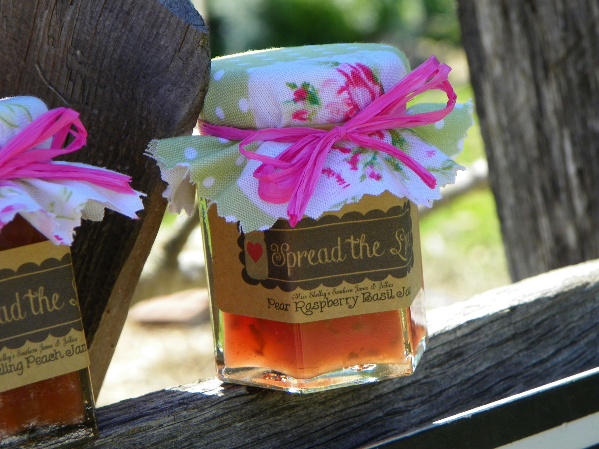 Shabby Chic Jam Favors - Love is Sweet