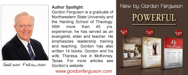 3 New Books by Gordon Ferguson
