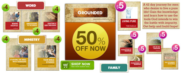 50%Off all GROUNDED materials
