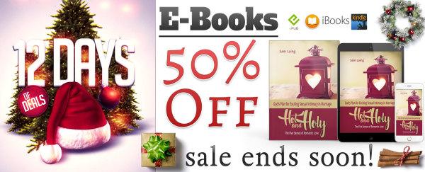 E-Books 50% Off