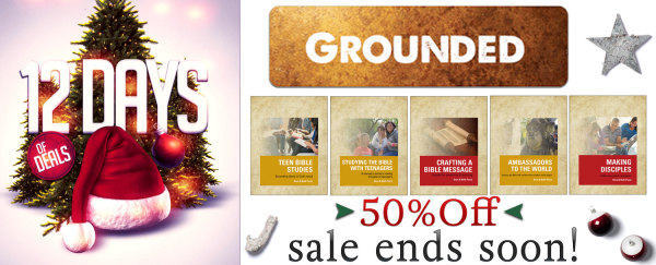 GROUNDED 50% Off