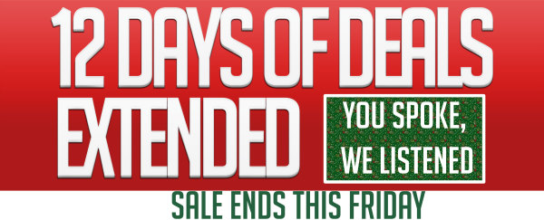12 Days of Deals Extended!