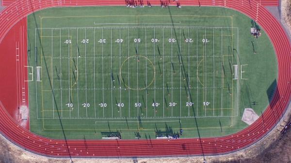 Thunder Mountain High School Football Field