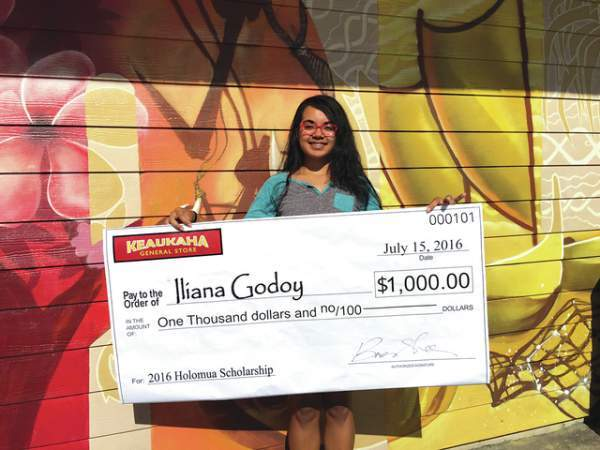 Holomua Scholarship Winner Announced