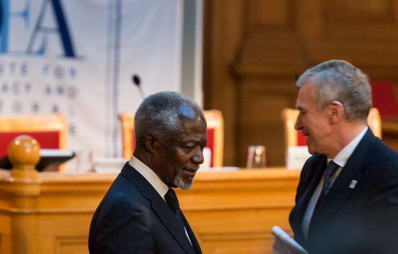 democracy, Stockholm, International IDEA, International Institute for Democracy and Electoral Assistance, Kofi Annan