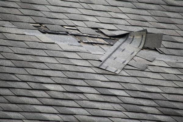 Wind Damage to Shingles