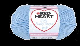 Red Heart Soft Baby Steps Light Blue