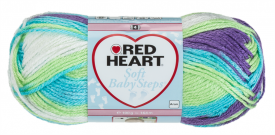 Red Heart Soft Baby Steps Prints Tickle