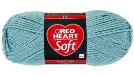 Red Heart Soft Ice Blue