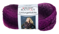 Red Heart  Boutique Unforgettable Petunia