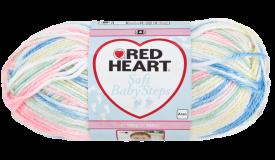 Red Heart Soft Baby Steps Prints Binky