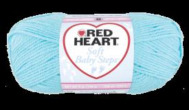 Red Heart Soft Baby Steps Aqua
