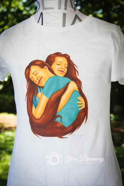 SISTERS POEM T-SHIRT FRONT