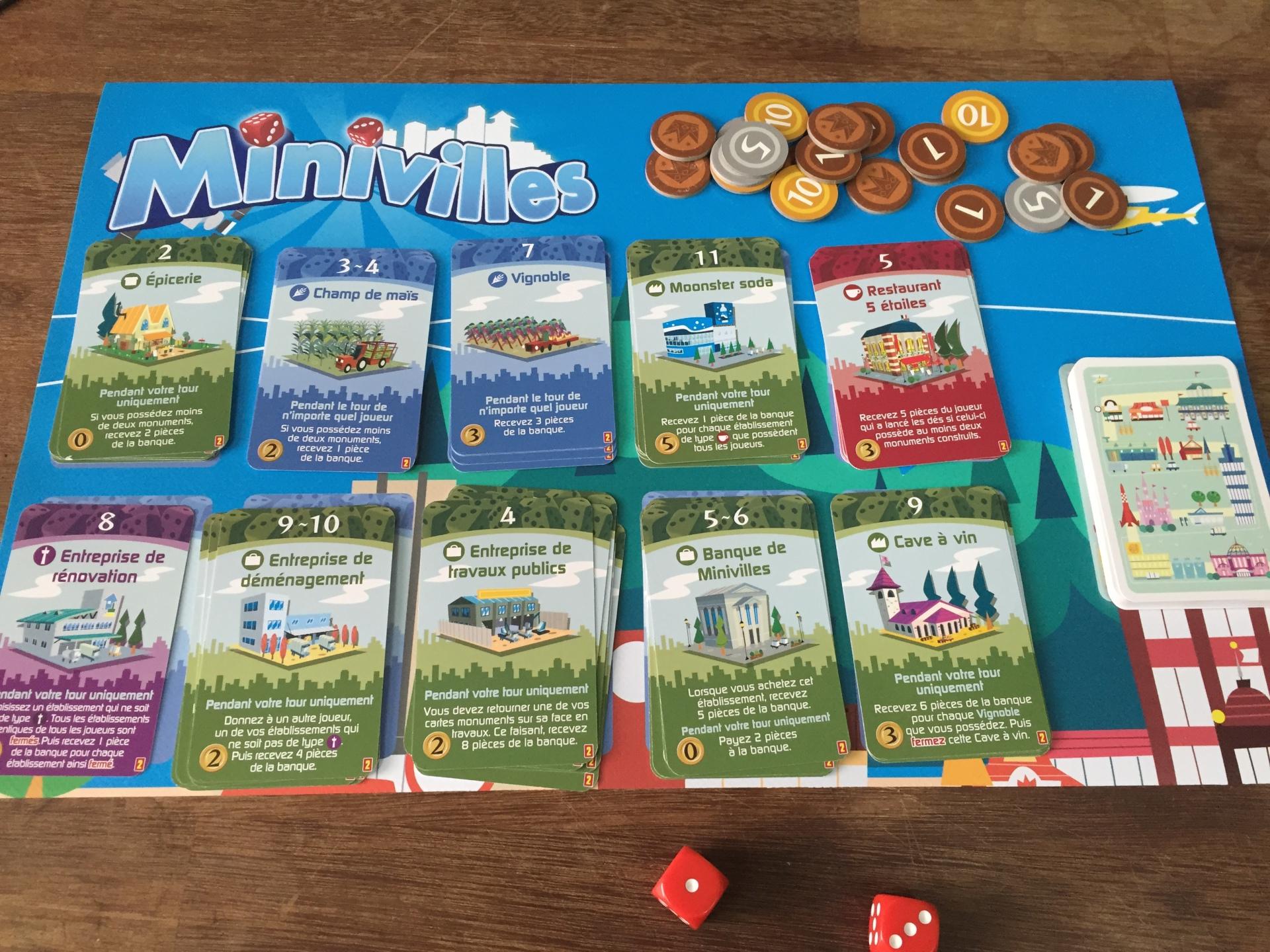 Minivilles + Extensions