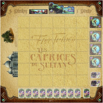 Five Tribes - Caprices du Sultan