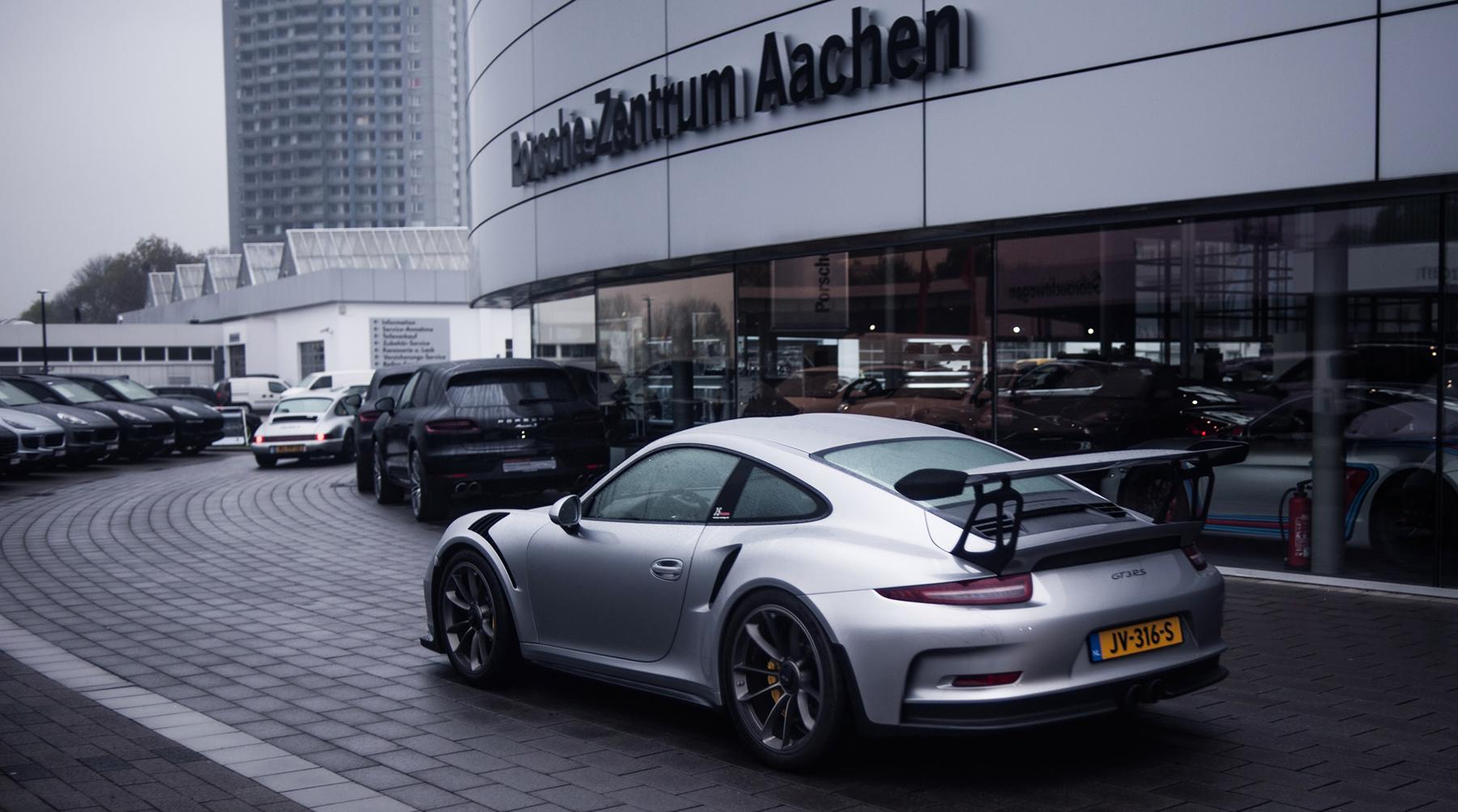 Roadpursuit Porsche centrum Aachen GT3