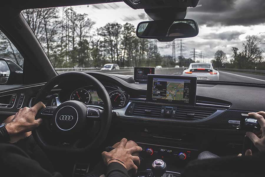 roadpursuit, winter roadtrip , Audi
