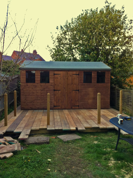 custom shed design and construction