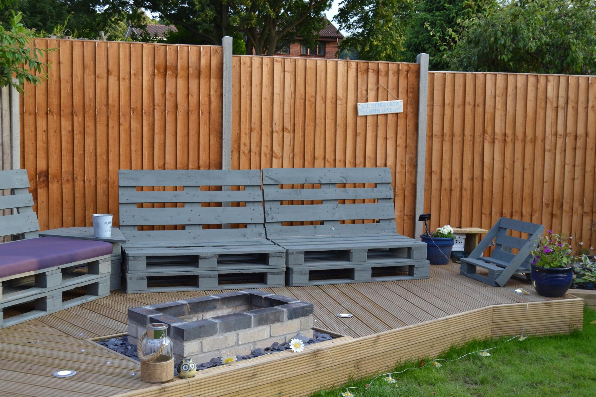 pallet furniture decking Stratford-upon-avon