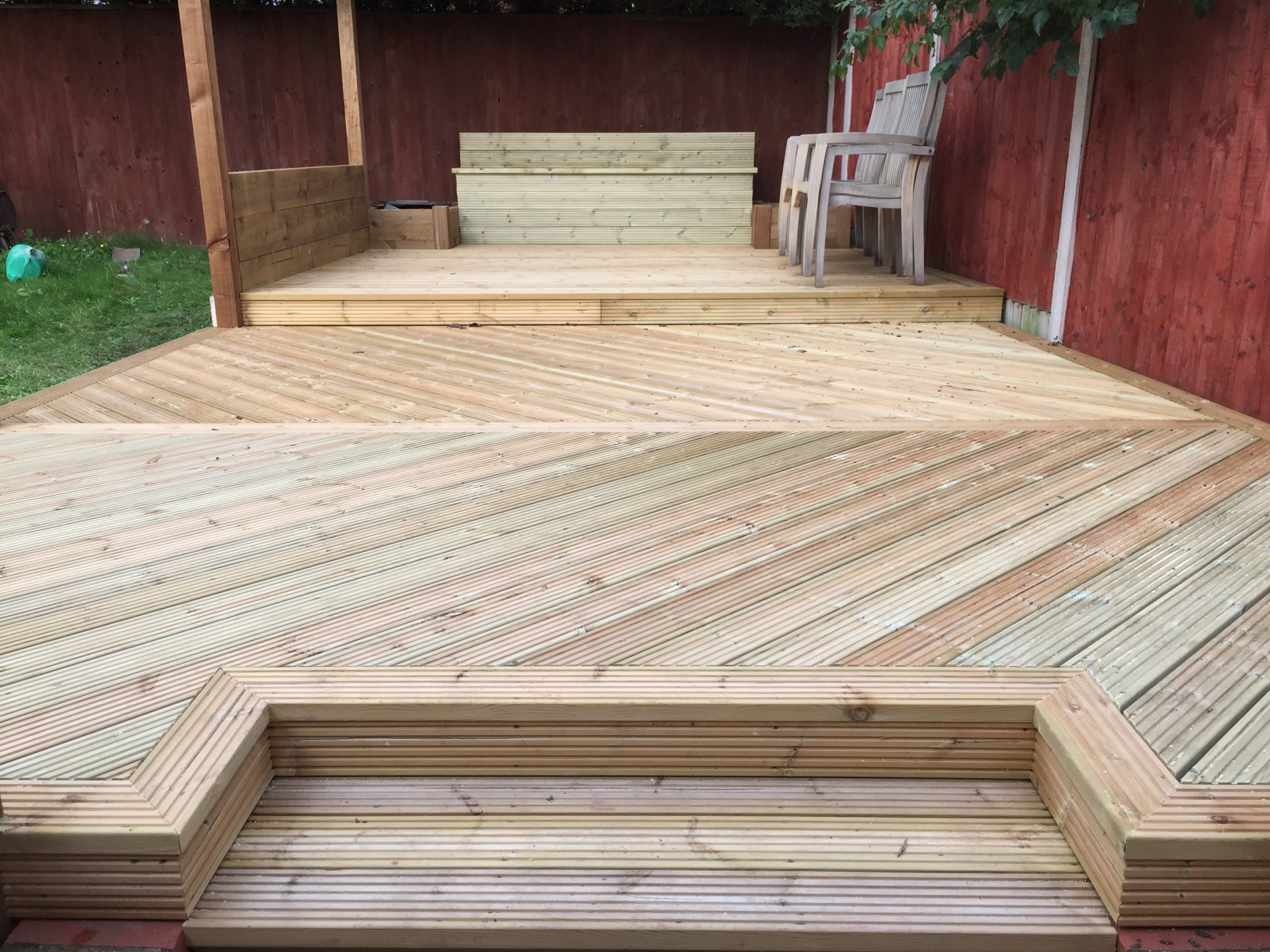 softwood decking installation alcester
