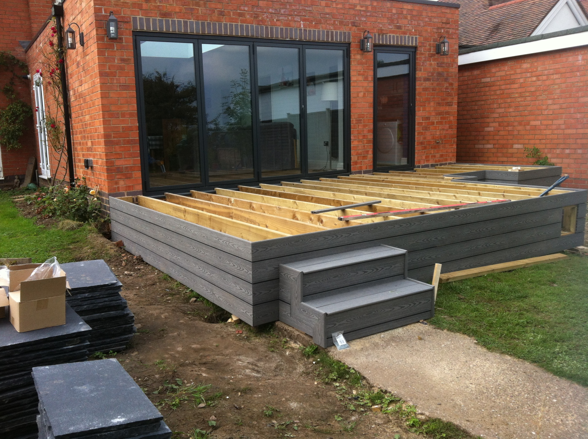 raised decking solution midlands