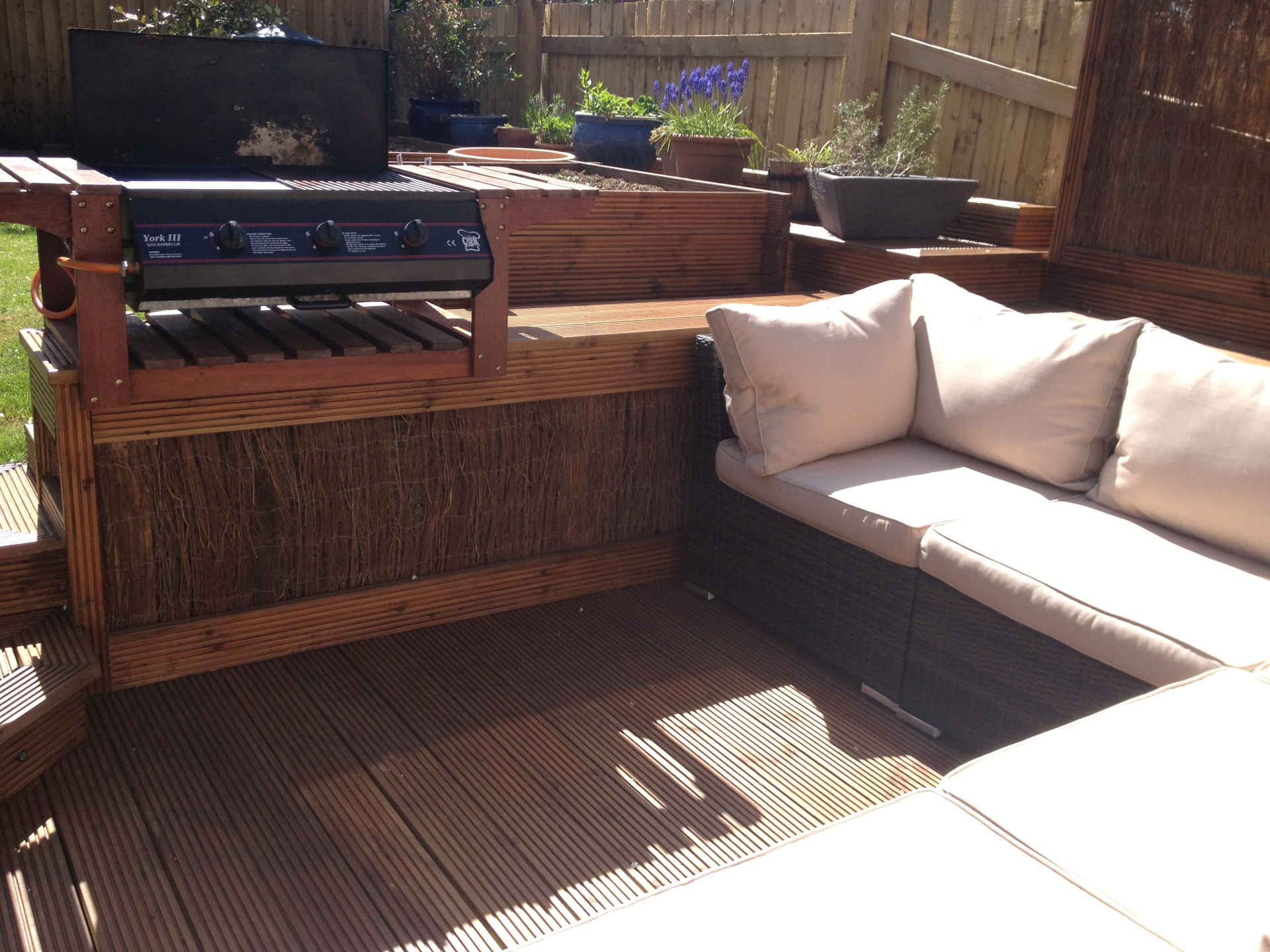 bespoke bbq decking redditch