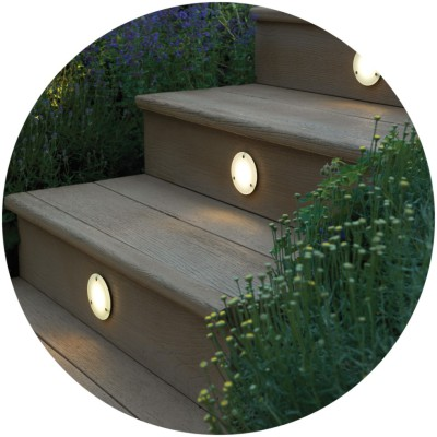 garden deck lighting