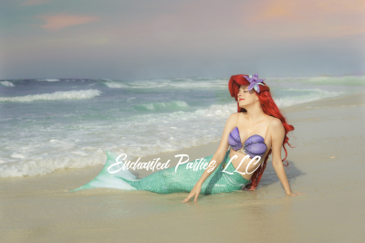 Swimming Mermaid Princess  (Specialty Pricing)
