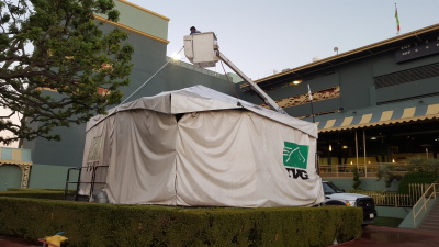 tent cleaning service