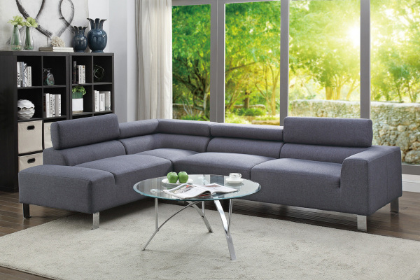 Very Blue Sectional