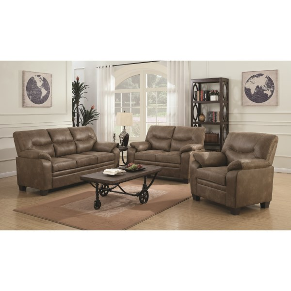 2pc Sofa & Loveseat
