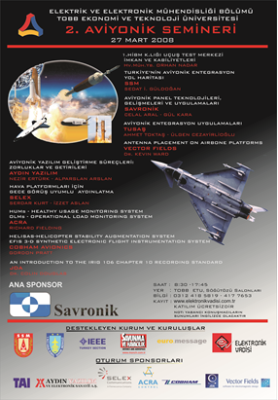 Electronics Valley Aviation and Avionics Systems Seminar 2008