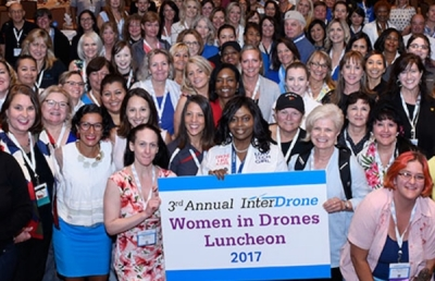 Women in Drones Networking Event during InterDrone 2018
