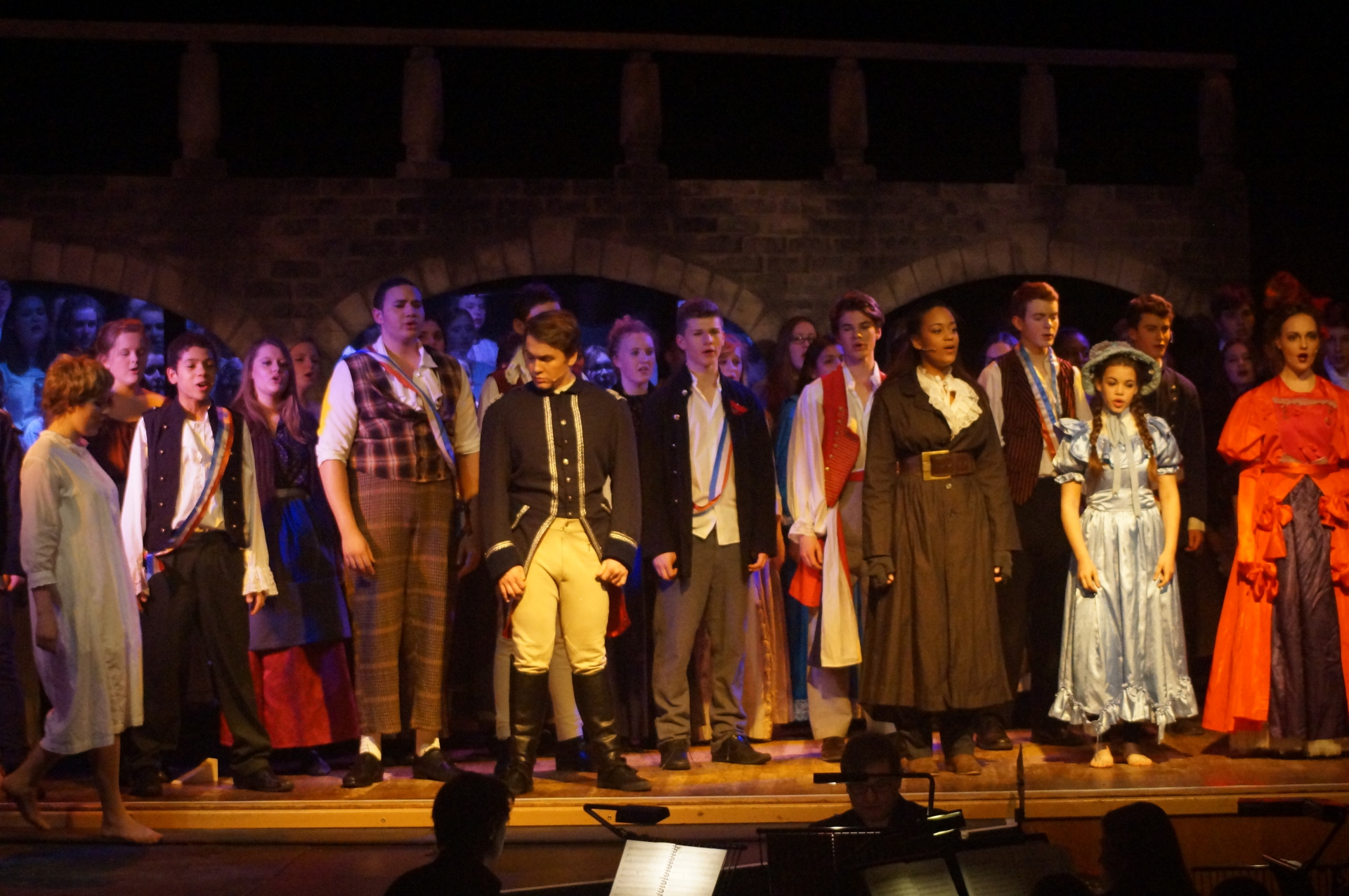 Les Miserables complete costume set for Youth and Adult productions