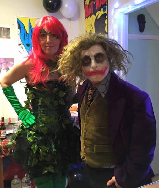 Poison Ivy & The Joker